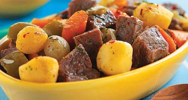 Receita de Acém Picadinho Com Legumes - Receita de Empanada de Sardinha