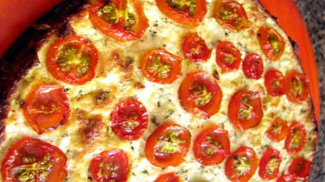 Torta de Tomate e Ricota - Como fazer Torta de Limão