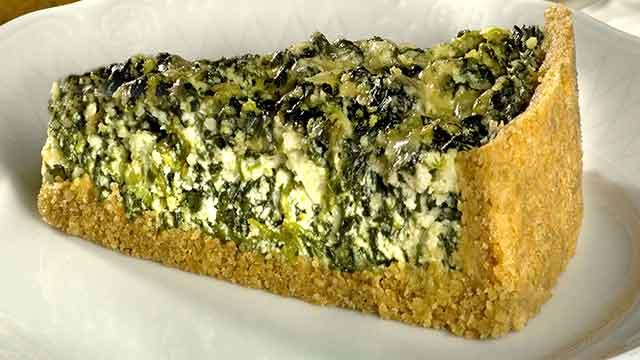 Torta de Ricota com Espinafre - Torta Merengada de Abacaxi