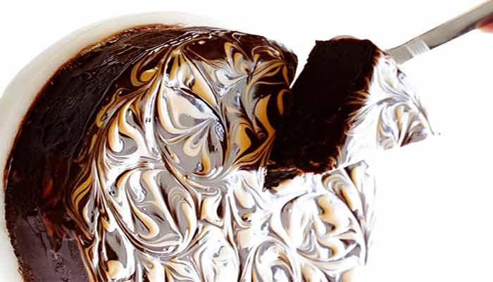 Bolo de chocolate e Manteiga de Amendoim Sem Glúten