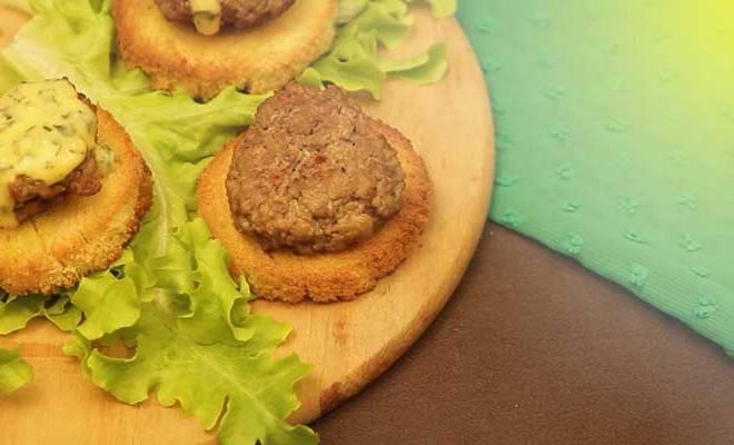 Como fazer Mini Hambúrguer de Carne