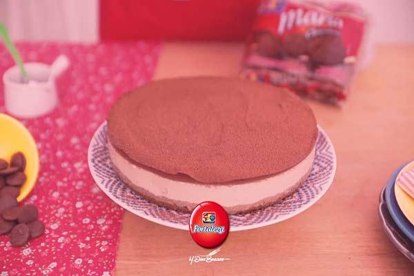 Como fazer Torta de Capuccino com Chocolate Amargo