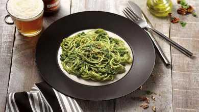 Delicioso Capellini Adria Grano Duro ao Pesto