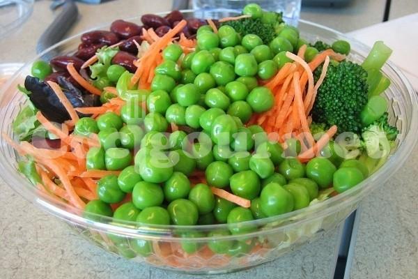 Salada de verduras ao bafo  Receita