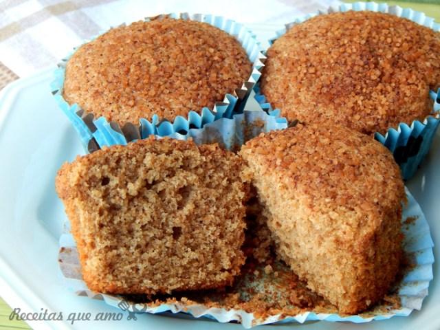Receita de cupcake integral