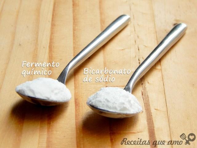 Qual a diferença entre bicarbonato de sódio e fermento?