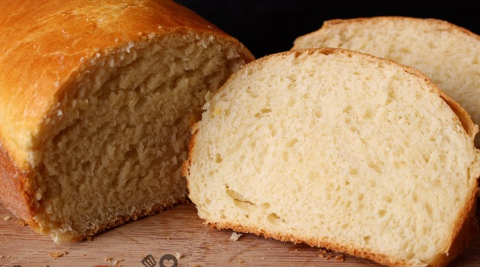 Pão caseiro fofinho e gostoso