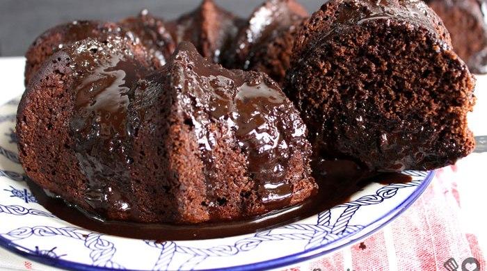 Bolo de chocolate integral