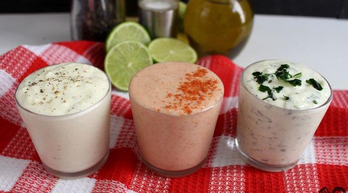 3 opções de molho caseiro para salada