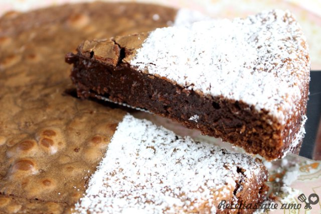 Brownie com 3 ingredientes