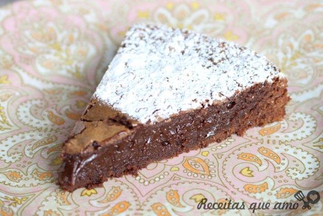 Brownie com 3 ingredientes