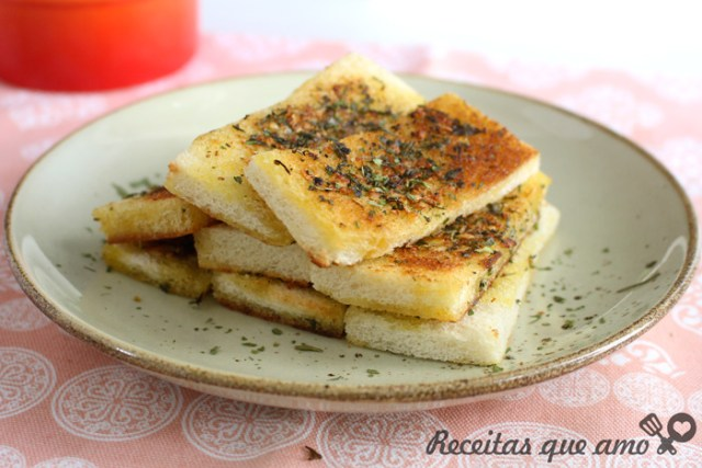 Pão de alho sem forno super rápido