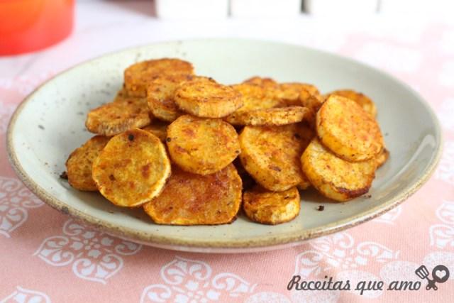 Batata doce no forno ou air fryer
