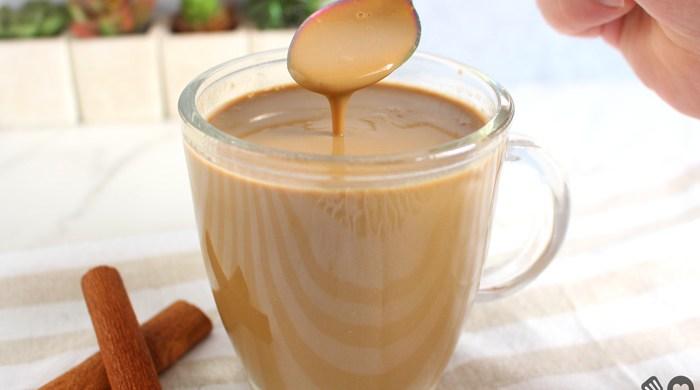 Cappuccino cremoso caramelado