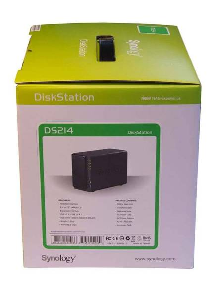Synology ds214play Diskstation scatola
