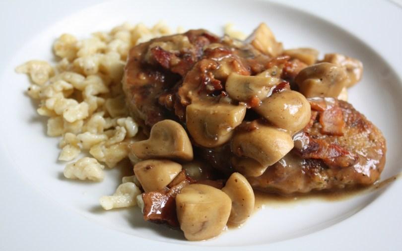 Jagerschnitzel met Spatzle Recept