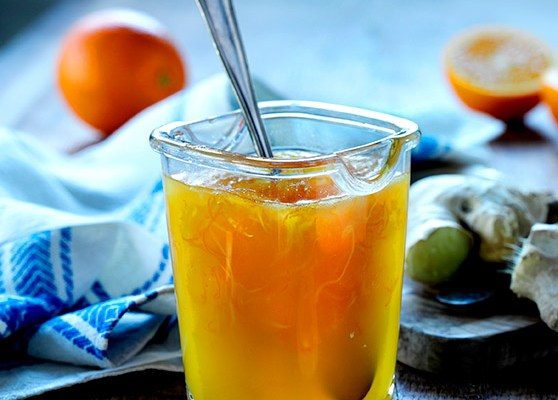 Apelsinmarmelad med ingefära
