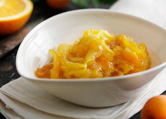 Aprikos och apelsinmarmelad