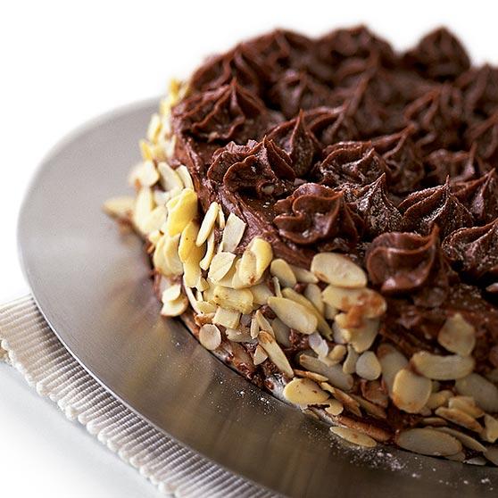 Choklad och mockatårta
