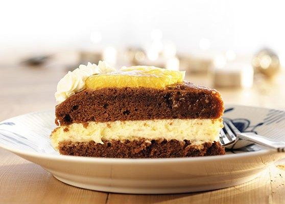 Chokladtårta med apelsinfromage