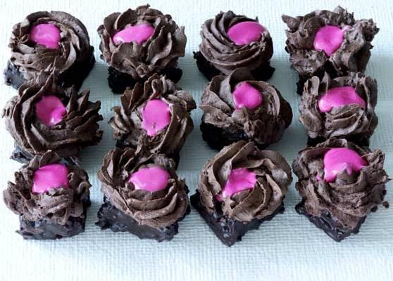 Chokladtryffelkakor