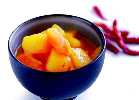 Mango och papayarelish