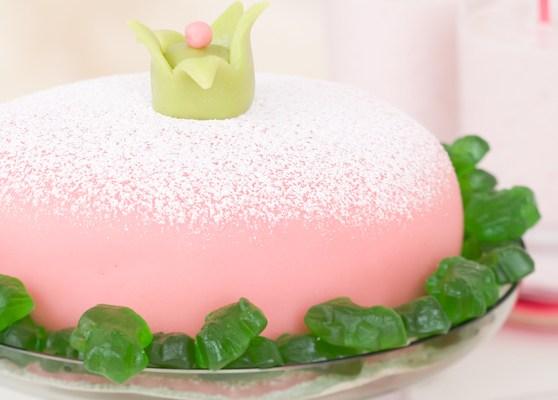 Rosa prinsesstårta