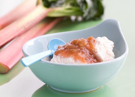 Rabarbersås till glass