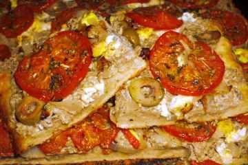 Tarta de Atún y Tomate