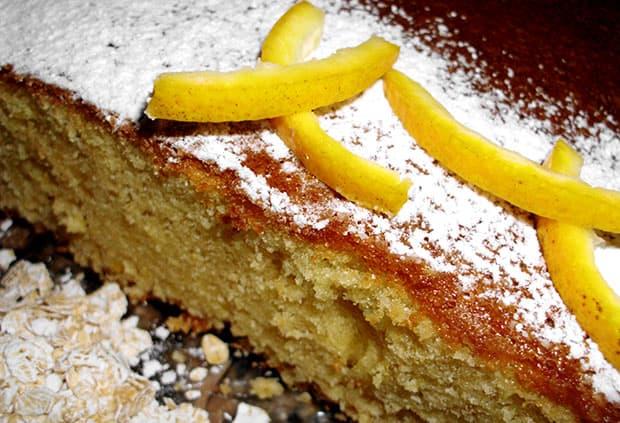 Torta de Naranja sin manteca