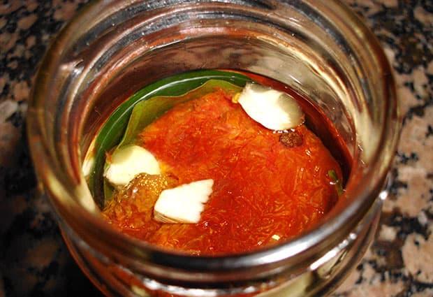 Tomates secos en Aceite y Ajo