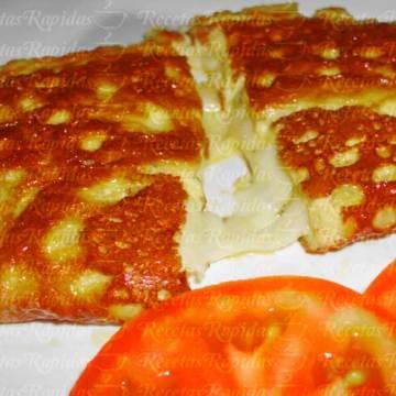 Cómo hacer Omelette de Queso