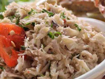 Ensalada de Cangrejo  Ensaladas  Recetas y Comida de Ecuador