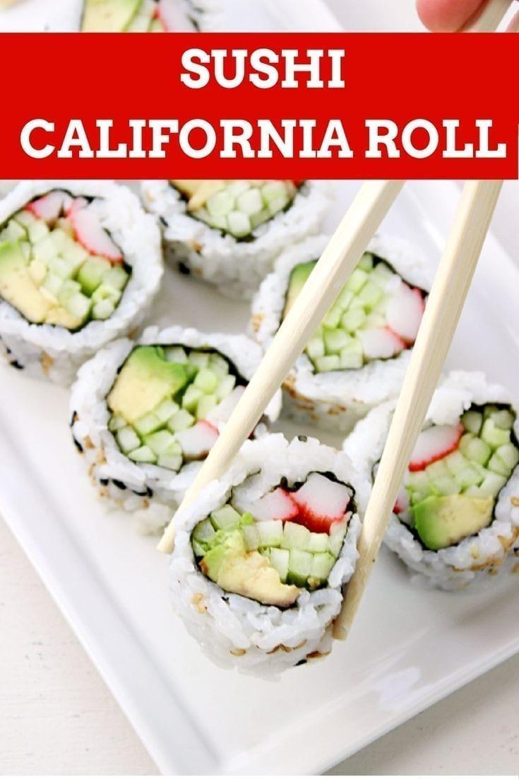 California Roll  California Maki  California Sushi