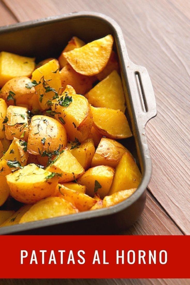 Patatas al Horno  Patatas Asadas al Horno  Papas Al Horno