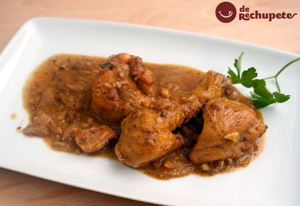 Pollo en salsa  Recetas de rechupete  Recetas de cocina