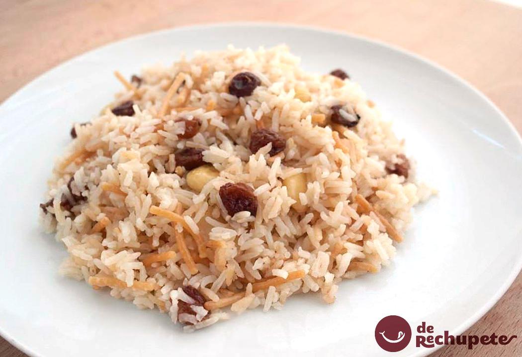 Cmo preparar arroz rabe Receta peruana