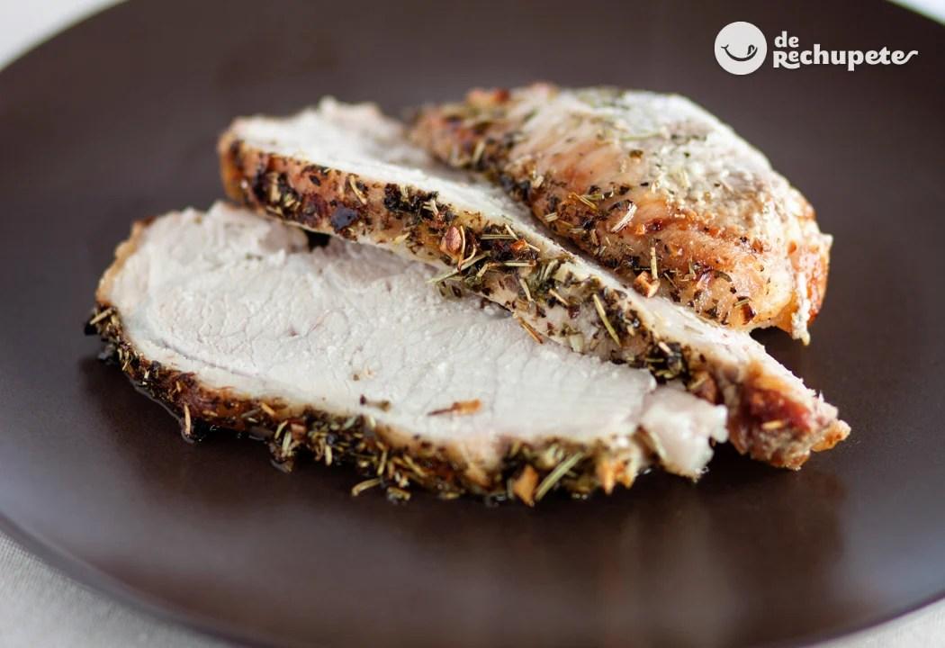 Lomo de cerdo al horno  Recetas de rechupete  Recetas de