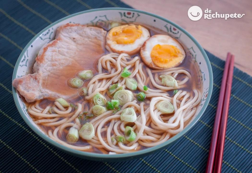 Cmo hacer ramen Sopa japonesa casera  Recetas de