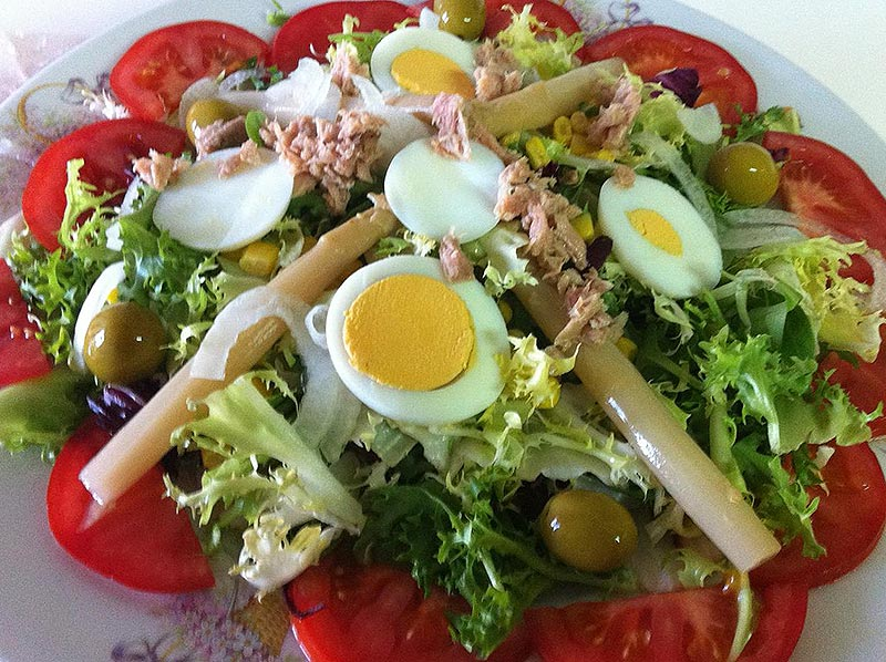 Image result for ensalada mixta