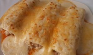 receta de Canelones de pollo caseros