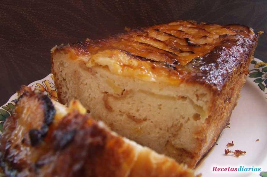 Pudin de manzana  Receta de cocina