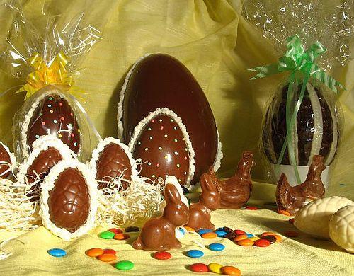Receta de Huevos de pascuas caseros