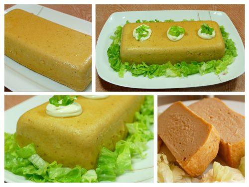 Presentación del pastel - pudin