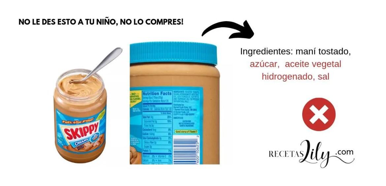 Mantequilla de maní o cacahuates, cuál comprar.
