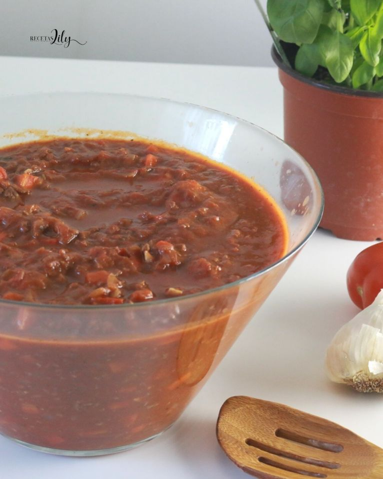 salsa boloñesa tradicional