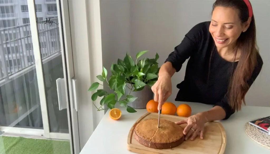 @recetaslily | Celebra a mamá con un delicioso bizcocho de naranja 3