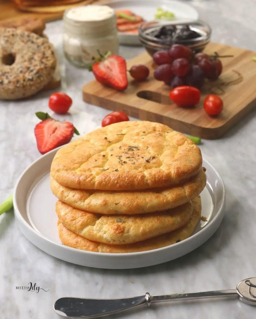 Cómo se hace el pan nube con 3 ingredientes