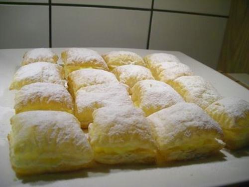 miguelitos - Hojaldre con crema - Recetas de cocina RECETASonline