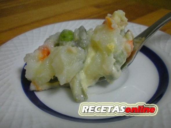 Ensaladilla rusa - Recetas de cocina RECETASonline